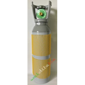 BOMBOLA RICARICABILE 5 LT. 200 BAR ANIDRIDE CARBONICA CO2 PER SALDATRICE A FILO EE