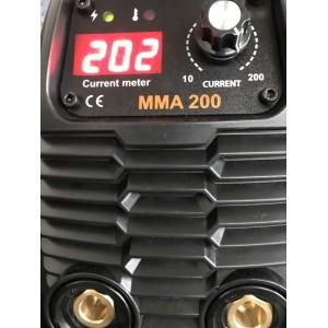 Saldatrice inverter MMA 200A valigetta alluminio e acc. maschera LCD WELDITALIA