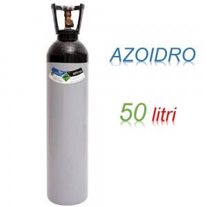 Bombola 50 litri AZOIDRO Ricaricabile 200 bar AZOTO 95% IDROGENO 5% EE
