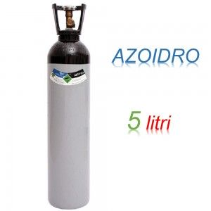 Bombola 5 litri AZOIDRO Ricaricabile 200 bar AZOTO 95% IDROGENO 5% EE IDRAZOTO H5