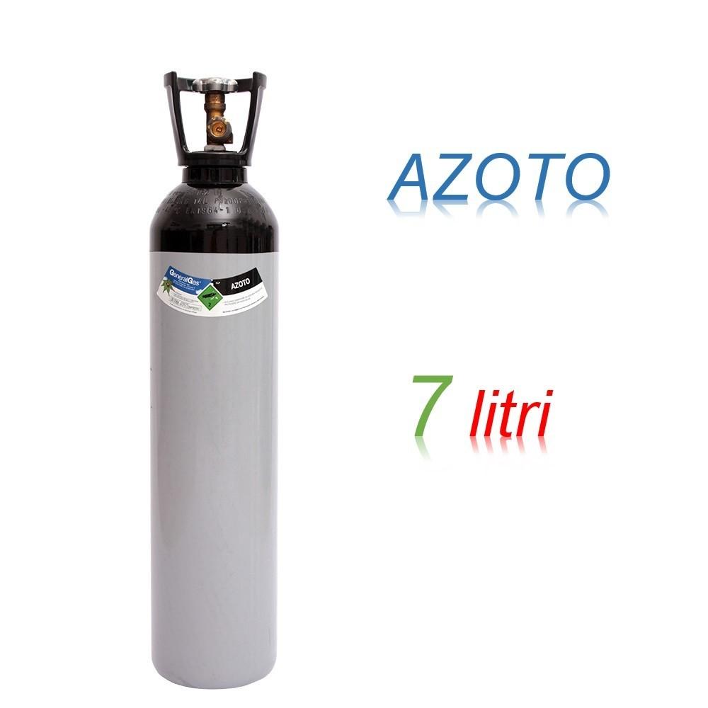 Bombola 7 litri AZOTO Ricaricabile 200 bar