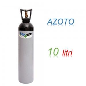 Bombola 10 litri AZOTO Ricaricabile 200 bar