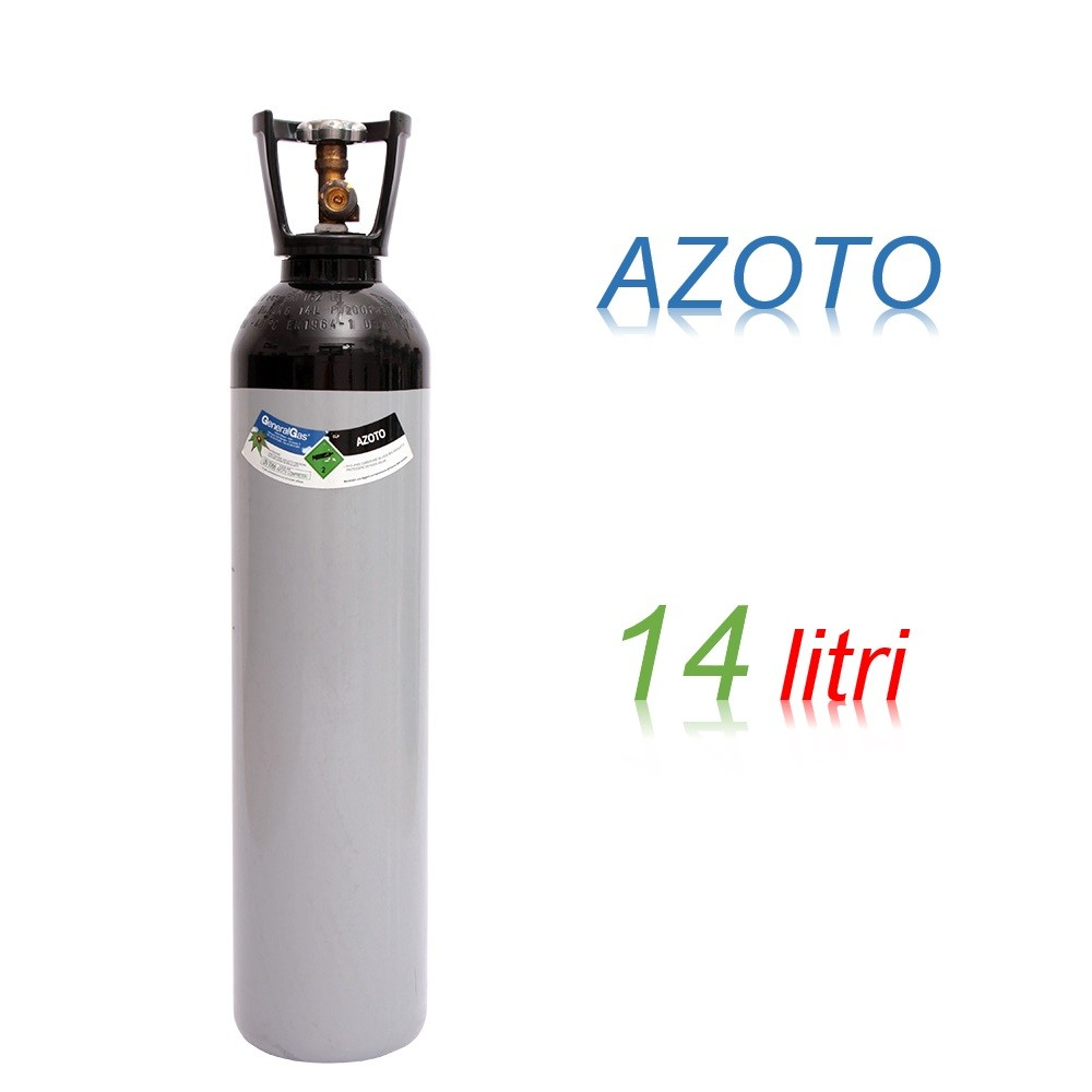 Bombola 14 litri AZOTO Ricaricabile 200 bar