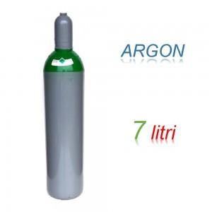 Bombola 7 litri miscela ARGON Ricaricabile 200 bar per saldatrice a filo EE