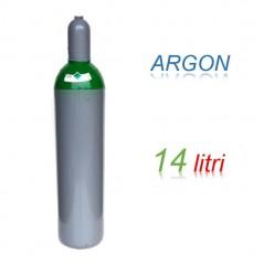 Bombola 14 litri miscela ARGON Ricaricabile 200 bar per saldatrice a TIG EE
