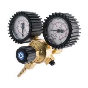 Riduttore di pressione Ossigeno a 2 manometri fino a 300 bar