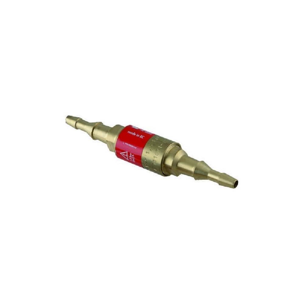 Valvola di sicurezza per tubo saldatura a cannello gas acetilene