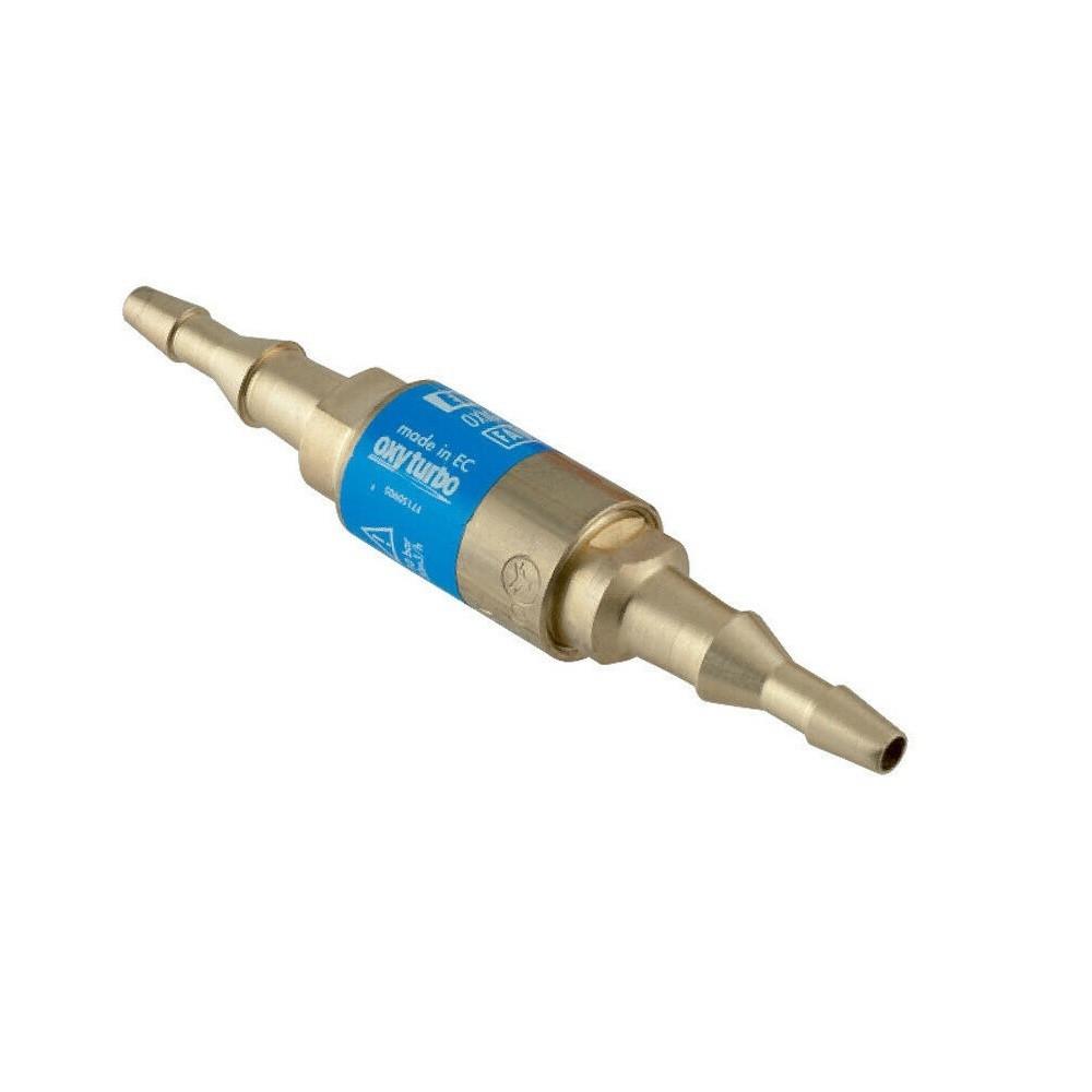 Valvola di sicurezza per tubo saldatura a cannello gas ossigeno