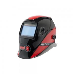 Maschera Casco Saldatore LCD P950 TURBO automatica 9-13 DIN ideale per saldatura MMA MIG MAG