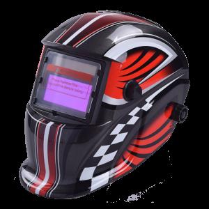 Maschera Casco Saldatore Saldatura LCD automatica 9-13 DIN autoscurante ideale per MIG TIG