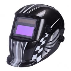 Maschera Casco Saldatore LCD automatica 9-13 DIN autoscurante ideale per saldatura MIG TIG