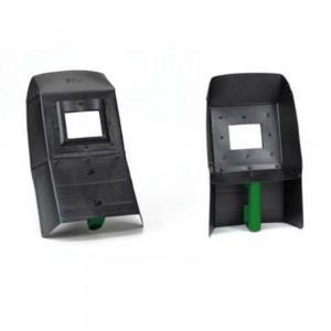 Maschera saldatore in fibra vetro inattinico 11 DIN