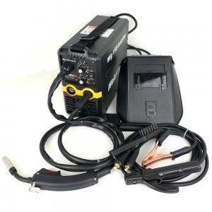 Saldatrice a filo Continuo ed elettrodo inverter MIG 150A gas no gas completa di torcia e cavi saldatura