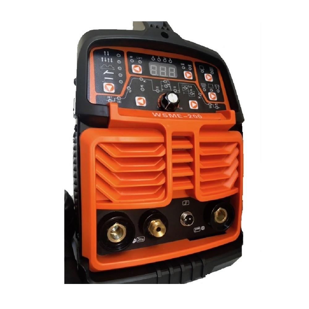 Saldatrice a TIG ed elettrodo inverter 200 AC DC pulsata con innesto HF