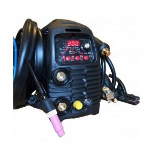 Saldatrice Inverter WELDITALIA TIG 200 DC HF pulsata elettrodo 230v