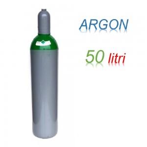 Bombola 50 litri ARGON Ricaricabile 200 bar EE per saldatrice a filo e TIG