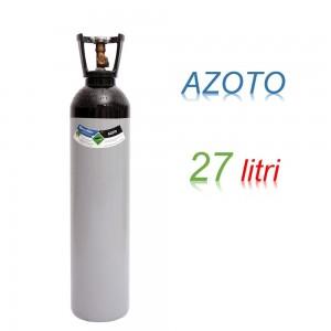 Bombola 27 litri AZOTO Ricaricabile 200 bar EE