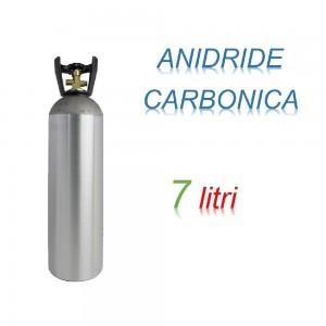 Bombola Anidrite Carbonica 7 litri Ricaricabile 200 bar CO2 per saldatrici a filo EE