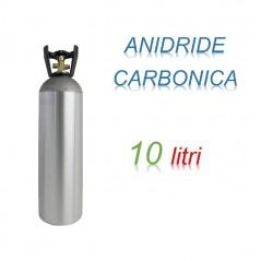 Bombola Anidrite Carbonica 10 litri Ricaricabile 200 bar CO2 per saldatrici a filo EE