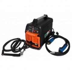 Saldatrice a filo continuo elettrodo Inverter TIG MIG 200A gas no gas completa di torcia e cavi