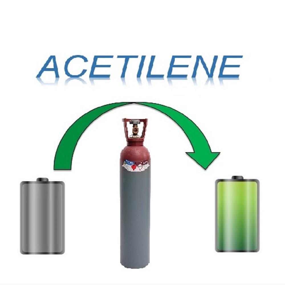 Ricarica Bombola Acetilene 33 Litri - Ritiro - Carica - Consegna