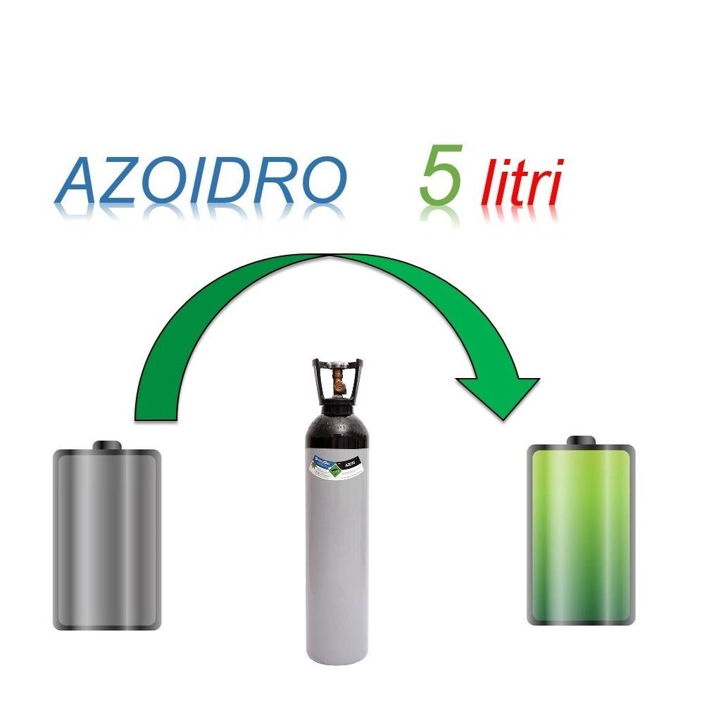 Servizio Ricarica Bombola Azoidro - IdroAzoto 5 Litri - Ritiro - Carica - Consegna