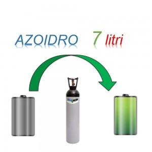 Servizio Ricarica Bombola Azoidro - IdroAzoto 7 Litri - Ritiro - Carica - Consegna