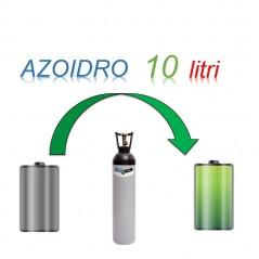 Servizio Ricarica Bombola Azoidro - IdroAzoto  10 Litri - Ritiro - Carica - Consegna