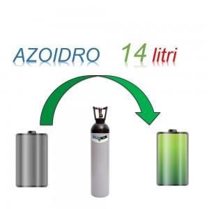 Servizio Ricarica Bombola Azoidro - IdroAzoto 14 Litri - Ritiro - Carica - Consegna