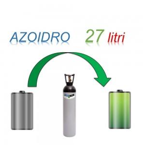 Servizio Ricarica Bombola Azoidro - IdroAzoto 27 Litri - Ritiro - Carica - Consegna