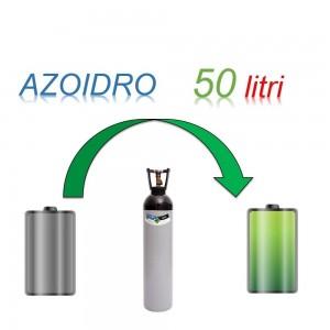 Servizio Ricarica Bombola Azoidro - IdroAzoto 50 Litri - Ritiro - Carica - Consegna
